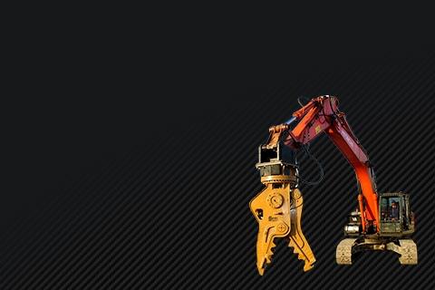 Редуктор хода техники Caterpillar для разрушения и демонтажных работ