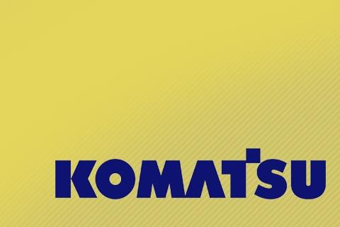 Поворотный круг Komatsu от компании Автогоризонт