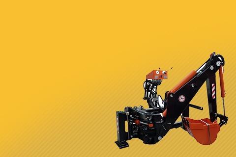 Купить навесной мини экскаватор на трактор