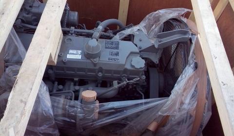Двигатель в полной комплектации 6HK1XYSA 01