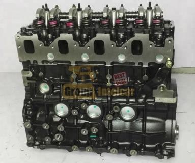 Двигатель без навесного 4JG1, 4JG2