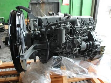 Двигатель в полной комплектации 6HK1XQA (XQP)