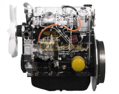 Двигатель в полной комплектации S4S-DT