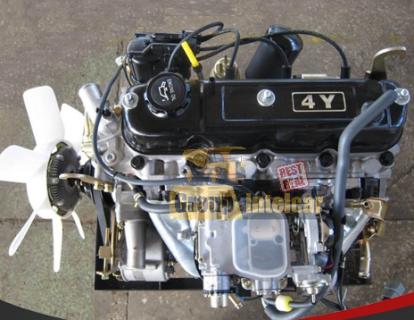Двигатель в полной комплектации Toyota 4Y