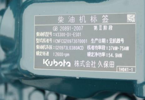 Двигатель в сборе Kubota V3300