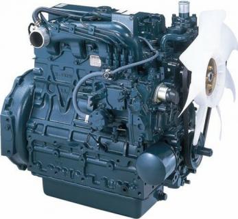 Двигатель в сборе Kubota D1503