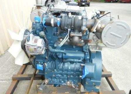 Двигатель в сборе Kubota D1803