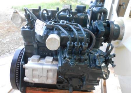 Двигатель в сборе Kubota D662