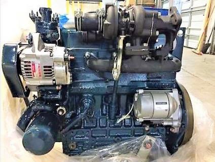 Двигатель в сборе Kubota V1505