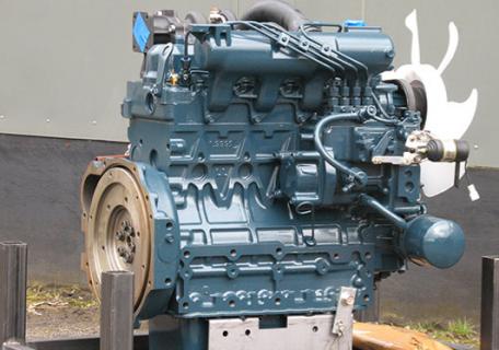 Двигатель в сборе Kubota V2003