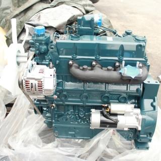 Двигатель в сборе Kubota V3007