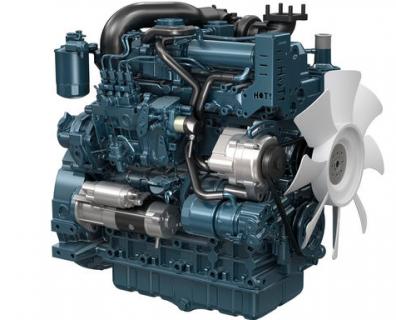 Двигатель в сборе Kubota V3307