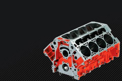 Блок цилиндров двигателя купить в сборе