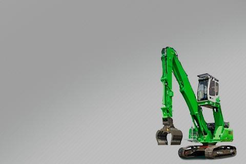 Редуктора перегружателей металлолома, леса, зерна Volvo