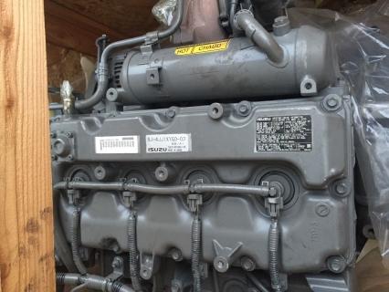 Двигатель 4JJ1 спецтехника (с навесным)