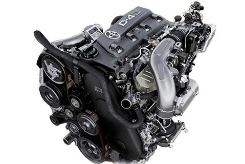 Двигатель Toyota 1KD в сборе