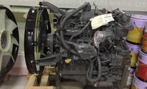 Двигатель 4HK1-X Isuzu спецтехника (с навесным)