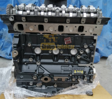 Двигатель 4HK1-X Isuzu спецтехника (без навесного)