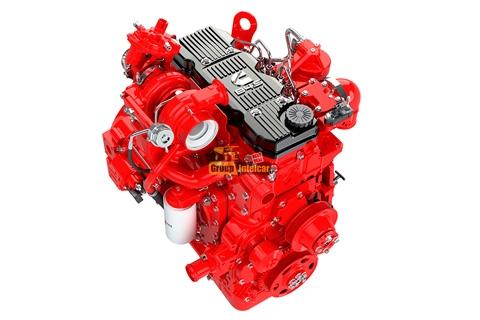 Двигатель Cummins 4ISBe 140