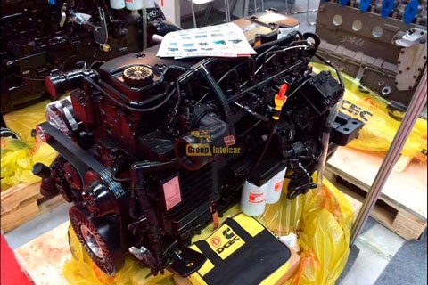 Двигатель Cummins 6ISBe 210 Long block