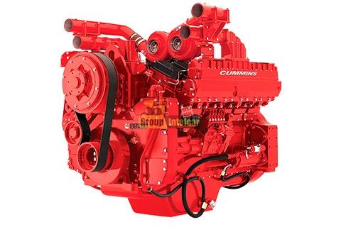 Двигатель Cummins QST30 цена и характеристики