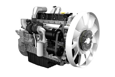 Двигатель Doosan DL06 в сборе