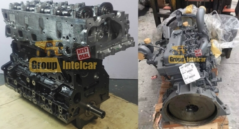Двигатель экскаватора JCB JS 160