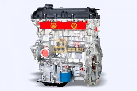 Двигатель Hyundai G4FA 1.4