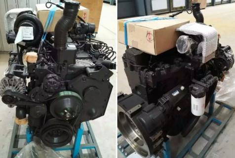 Двигатель Komatsu 6D102