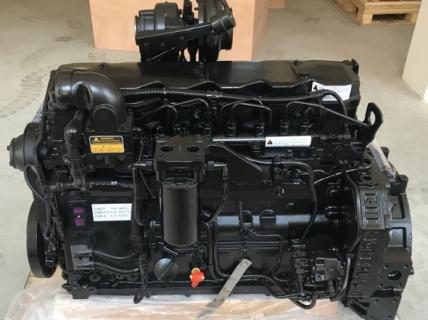 Двигатель Komatsu 6D107 без навесного