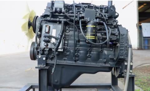 Двигатель Komatsu 6D125