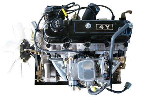 Двигатель новый 4Y-ECS Toyota в сборе