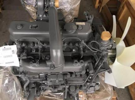 Двигатель 4BG1 Isuzu (с навесным)