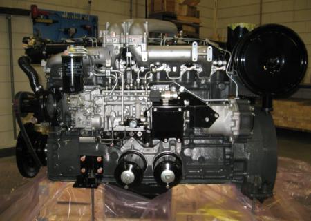 Двигатель в полной комплектации 6D24