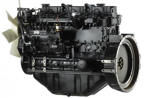 Двигатель в полной комплектации S6S-DT