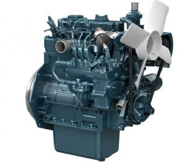 Двигатель в сборе Kubota D722