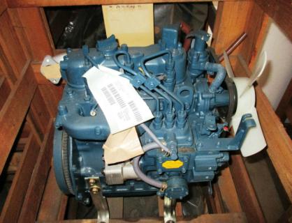 Двигатель в сборе Kubota D850