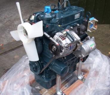 Двигатель в сборе Kubota D902