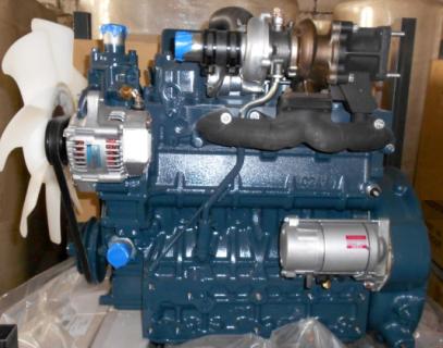 Двигатель в сборе Kubota V2203