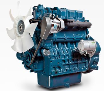 Двигатель в сборе Kubota V2403