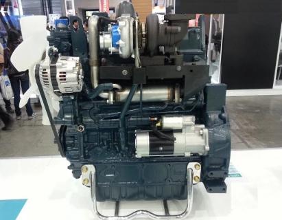 Двигатель в сборе Kubota V3600