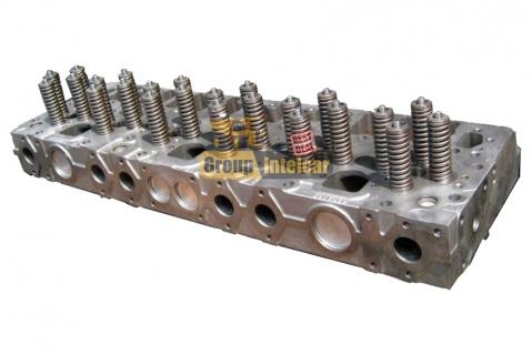 Головка блока цилиндров на дизельный двигатель Cummins QSM11 2864028