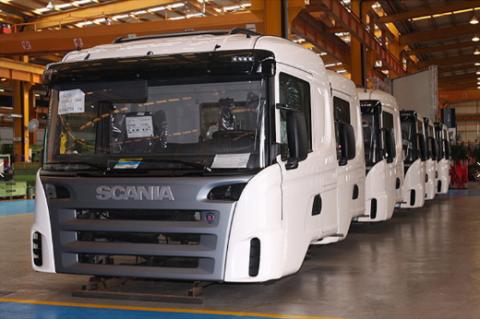 Кабины Scania